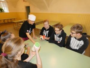 Võid valmistasid 9. klassi õpilased, 26.09