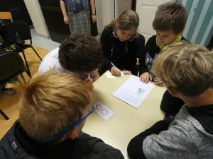 Veerandi lõpetasime mälumänguga 5.-9. klassi õpilastele