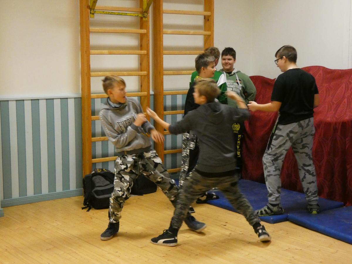 """11.12 Programmi """"Aita lapsi"""" töötuba """"Lavaline võitluskunst"""" 5-6. kl õpilastele"""