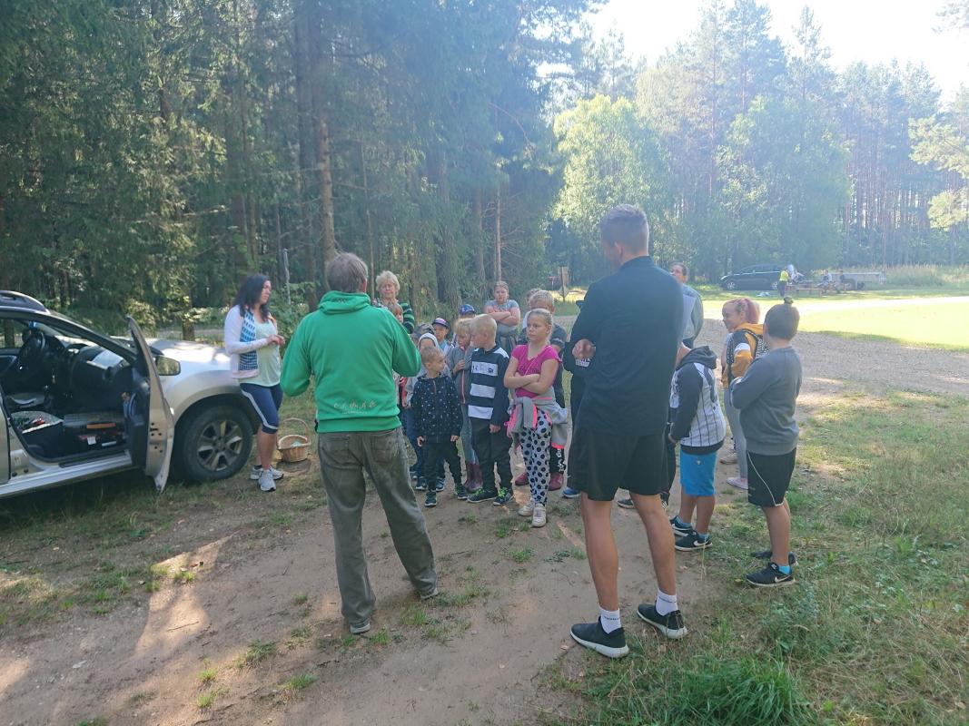 Orienteerumisega spordipäev Palu metsas