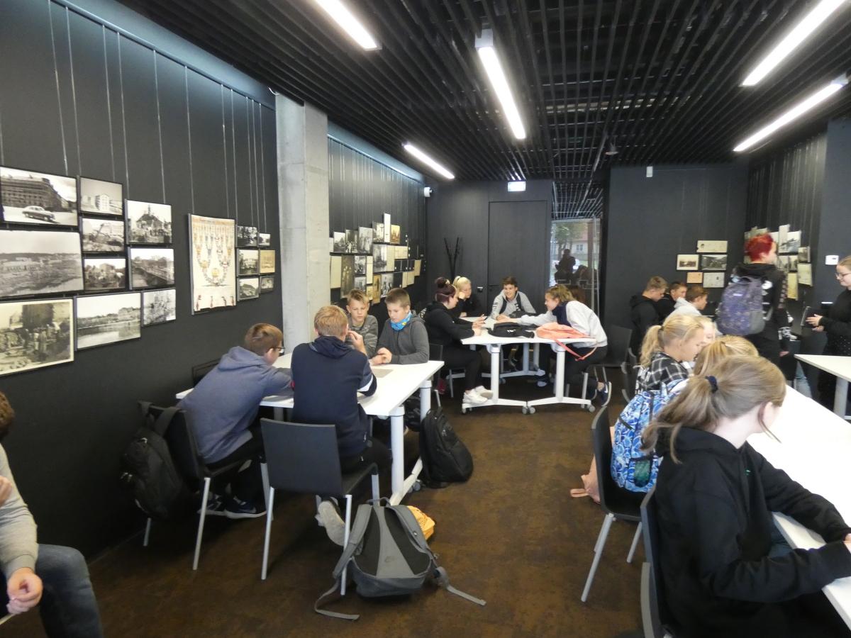 Rahvusarhiivi NOORA külastus teadlasteöö nädala raames