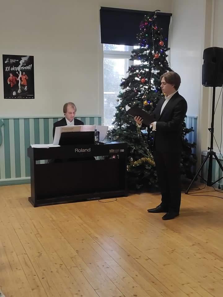 Kammermuusikute kontsert Talvine teekond II, laul – Karl-Markus Kaiv, klaver – Andre Hinn, 19.12
