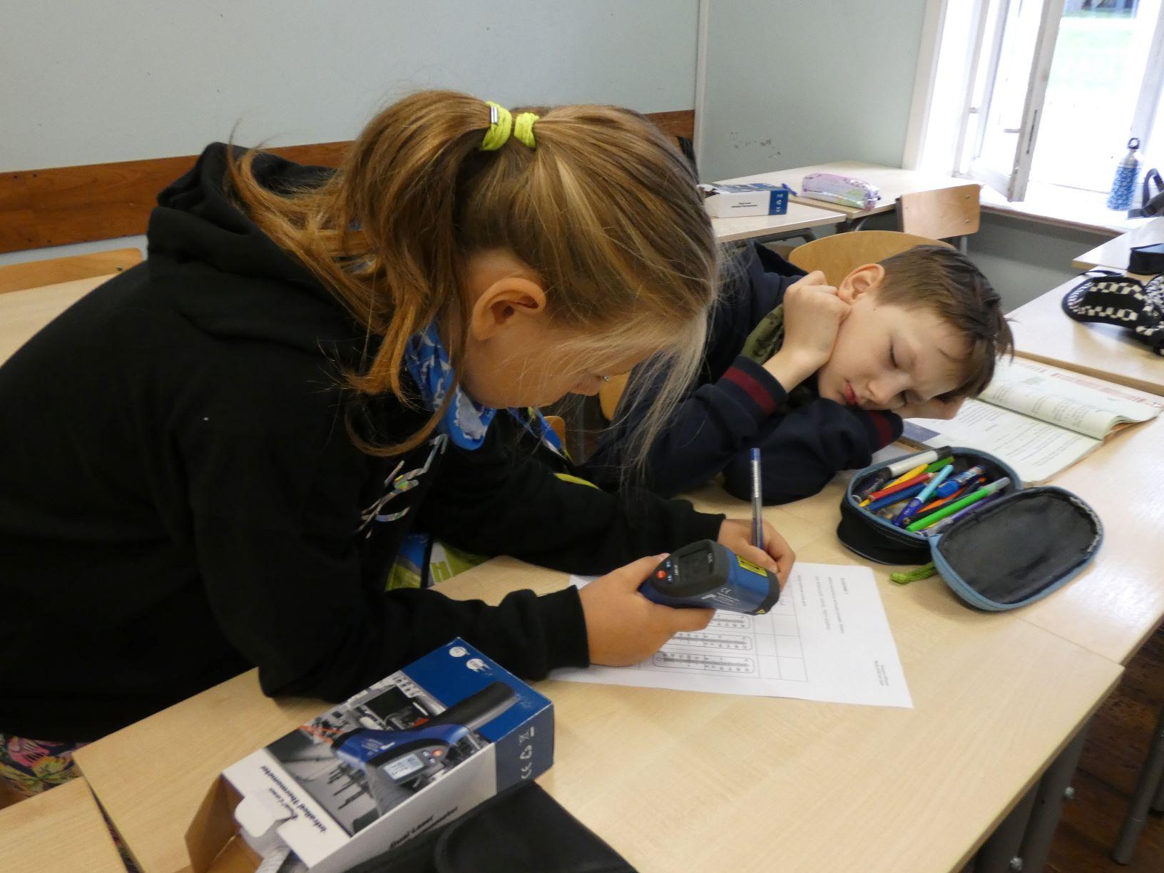 TÖF – IR-termomeeteriga mõõtmine, 5. klass