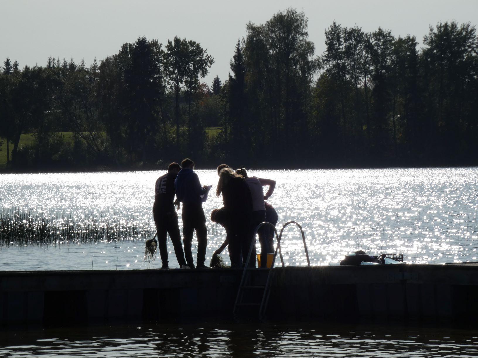 TÖF – Vee uuringud Nõuni järve ääres, 8.–9. kl