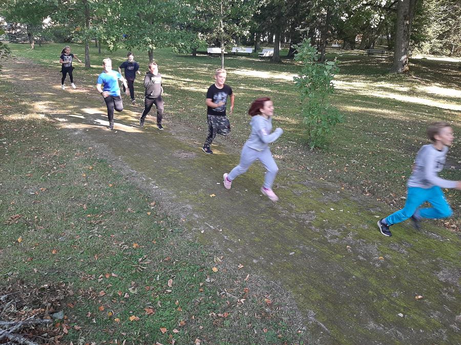 Spordinädal – mõisapargi jooksukross, 23.09.2020
