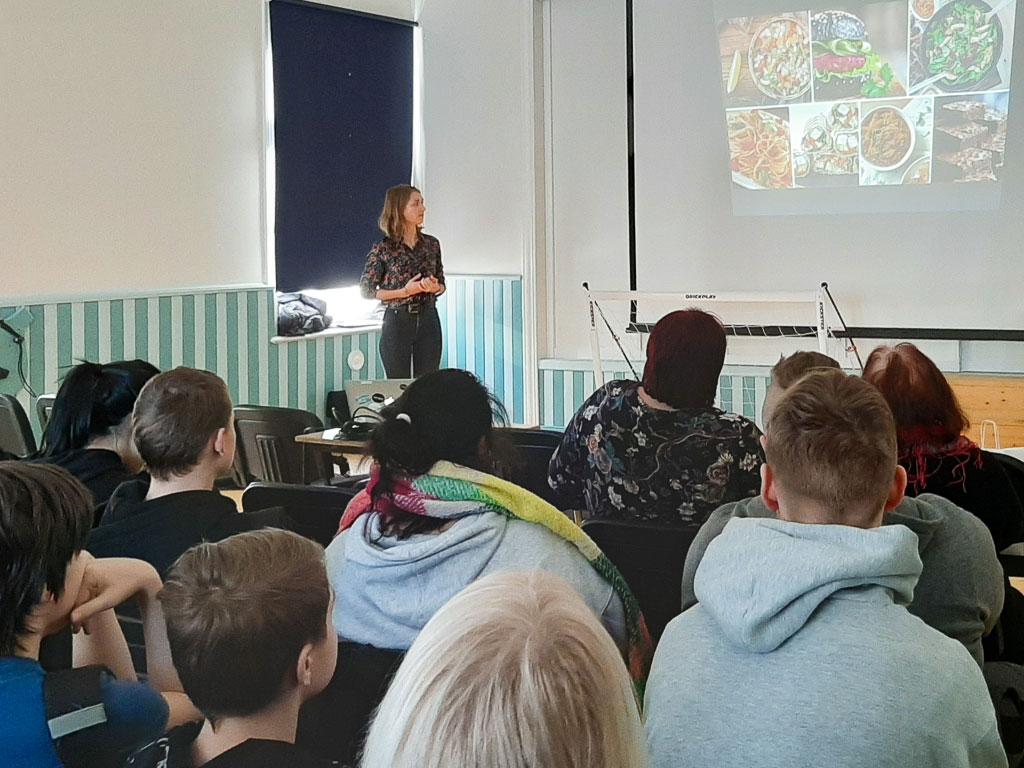 Tervislikku toitumisprogrammi tutvustav loeng Taimne teisipäev