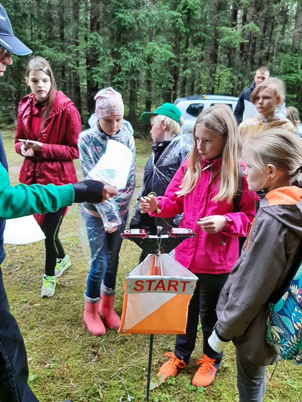 Traditsiooniline orienteerumispäev Palu metsas, 03.09.2021